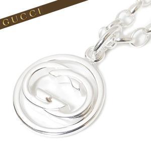 グッチ GUCCI ネックレス ペンダント GGロゴプレート スターリングシルバー925(純銀) ロゴ刻印プレート 147749 J8400 8106|ebsya