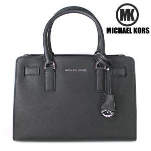 マイケルコース MICHAEL KORS MK 2WAY ハンドバッグ トートバッグ DILLON サッチェルバッグ サフィアーノレザー ブラック 30H4SAIS3L 001|ebsya