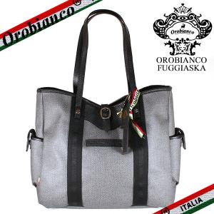 オロビアンコ トートバッグ メンズ フジャスカ ポック Orobianco FUGGIASKA POCK-OBGI PVC/レザー|ebsya