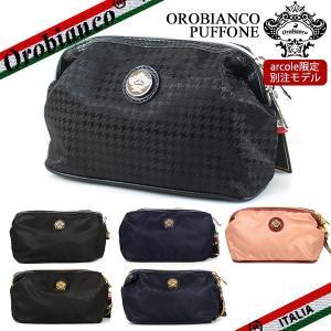オロビアンコ OROBIANCO オロビアンコ ポーチ メンズ/レディース PUFFONE プッフォーネ ナイロン/レザー 6色|ebsya