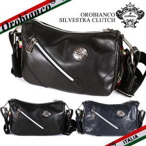 オロビアンコ ミニショルダーバッグ メンズ シルベストラ Orobianco SILVESTRA CLUTCH  カーフレザー|ebsya