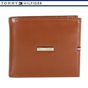 トミーヒルフィガー 財布 二つ折り財布 メンズ レザー ブラウン TOMMY HILFIGER 31TL25X012-251|ebsya
