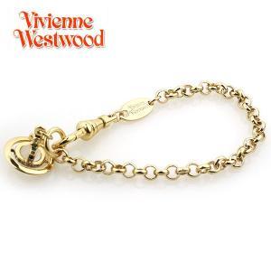 ヴィヴィアンウエストウッド Vivienne Westwood ブレスレット PETITE ORB プチオーブ ブレスレット ゴールド 1786|ebsya