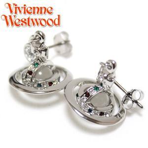 ヴィヴィアンウエストウッド Vivienne Westwood  プチオーブ ピアスPETITE ORB  シルバー 1790 |ebsya