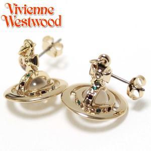 ヴィヴィアンウエストウッド Vivienne Westwood  プチオーブ ピアスPETITE ORB  ゴールド 1792 ebsya