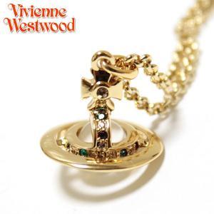 ヴィヴィアン ウエストウッド Vivienne Westwood ネックレス NEW PETITE ORB プチオーブ ペンダント ゴールド 1813|ebsya