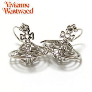 ヴィヴィアン ウエストウッド Vivienne Westwood  ピアス シン ライン 3Dオーブ プチピアス シルバー 2049|ebsya
