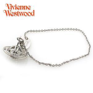 ヴィヴィアンウエストウッド Vivienne Westwood  シンライン 3D ブレスレット シルバー 2220|ebsya
