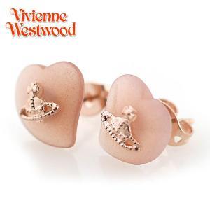 ヴィヴィアンウエストウッド Vivienne Westwood ピアス ミニジェムリズピアス ピンクゴールド×ブラウンムーンストーン(ピンク系) 2510|ebsya