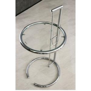 サイドテーブル ガラステーブル アイリーングレイ デザイナーズ リプロダクト E1027 4段階調節|ec-furniture|04