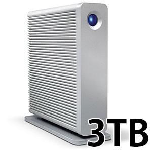 パソコン周辺機器 Lacie ラシー d2 quadra 3TB USB3.0/FireWire800/eSATA LCH-D2Q030Q3 ネコポス不可 ec-kitcut