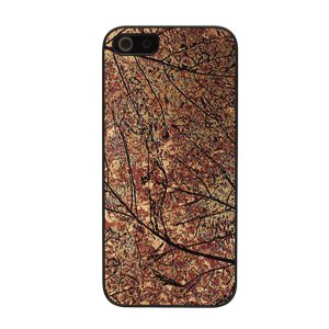 iPhoneSE / iPhone5s ケース Man & Wood マンアンドウッド Ikins iPhone SE / 5s / 5 Metal case Bronze Leaf I2437i5S ネコポス送料無料|ec-kitcut