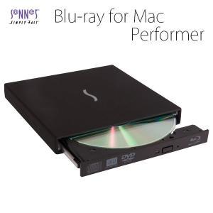 外付けブルーレイドライブ SONNET ソネット テクノロジー Performer Blu-Ray Disc Player with Player Software for Mac OS X ネコポス不可|ec-kitcut