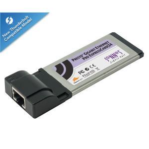 拡張LANカード SONNET ソネット テクノロジー Presto Gigabit Ethernet Pro ExpressCard/34 GE1000LAB-E34 ネコポス送料無料|ec-kitcut