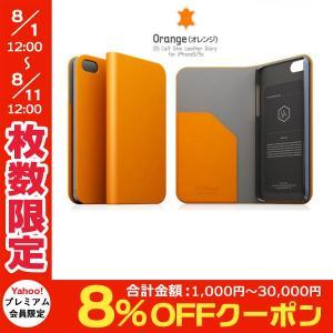 iPhoneSE / iPhone5s ケース SLG Design エスエルジー デザイン iPhone SE / 5s / 5 D5 Calf Skin Leather Diary オレンジ SD3263i5S ネコポス送料無料|ec-kitcut
