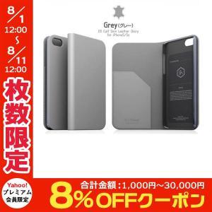 iPhoneSE / iPhone5s ケース SLG Design エスエルジー デザイン iPhone SE / 5s / 5 D5 Calf Skin Leather Diary グレー SD3265i5S ネコポス送料無料|ec-kitcut
