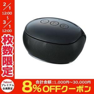 ワイヤレススピーカー エレコム ELECOM Bluetoothモノラルスピーカー ブラック LBT-SPP20BK ネコポス不可 ec-kitcut