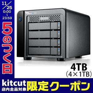 Promise Technology プロミス テクノロジー Pegasus2 M4 4TB 4x1TB Thunderbolt 2 RAID System HFJV2PA/A ネコポス不可|ec-kitcut