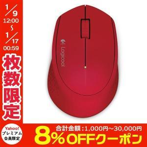 マウス ワイヤレスマウス LOGICOOL ロジクール Wireless Mouse m280 レッド M280RD ネコポス不可|ec-kitcut