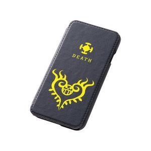 iPhone6s ケース  レイアウト・Ray Out iPhone 6 ワンピース・ブックカバーライプ・レザージャケット / トラファルガー・ロー ネコポス送料無料|ec-kitcut