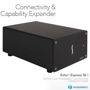 SONNET ソネット テクノロジー Echo Express SE I Thunderbolt 2-to-PCIe Card Expansion Chassis ECHO-EXP-SE1 ネコポス不可|ec-kitcut