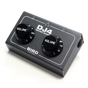 オーディオインターフェイス Bird Electron バード電子 マイクロミキサー DJ4 超小型 サウンドミキサー ガンメタ DJ4S2 ネコポス不可|ec-kitcut