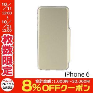 iPhone6s ケース PowerSupport パワーサポート iPhone 6 / 6s Air Jacket Flip ゴールド PYC-82 ネコポス送料無料|ec-kitcut
