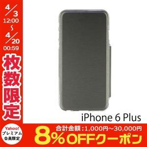 iPhone6 Plus iPhone6s Plus ケース PowerSupport パワーサポート iPhone 6 Plus / 6s Plus Air Jacket Flip グレー PYK-81 ネコポス送料無料 ec-kitcut