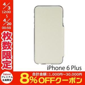 iPhone6 Plus iPhone6s Plus ケース PowerSupport パワーサポート iPhone 6 Plus / 6s Plus Air Jacket Flip ホワイト PYK-83 ネコポス送料無料 ec-kitcut