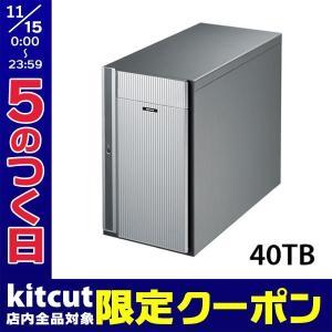 HDD、ハードディスクドライブ 受注生産 BUFFALO HD-DT/R6 40TB RAID 6 対応超高速ハ..