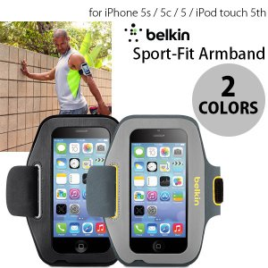 iPhoneSE / iPhone5s / iPhone5 ケース BELKIN Sport-Fit Armband for iPhone SE / 5s / 5c / 5 / iPod touch 5th ベルキン ネコポス不可 ec-kitcut
