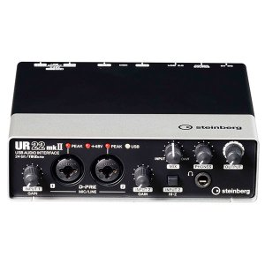 オーディオインターフェイス Steinberg スタインバーグ UR22mkII USB オーディオ MIDI インターフェース UR22MK2 ネコポス不可 ec-kitcut