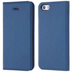 iPhoneSE / iPhone5s ケース Ray Out レイアウト iPhone SE / 5s / 5 手帳型ケース マグネットタイプ ファブリックネイビー RT-P11SLC3/FN ネコポス送料無料|ec-kitcut