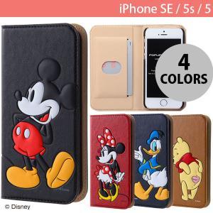 iPhoneSE / iPhone5s ケース Ray Out レイアウト iPhone SE / 5s / 5 ディズニー 手帳型ケース ポップアップ ミッキー RT-DP11J/MK ネコポス送料無料|ec-kitcut
