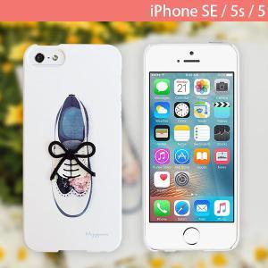 iPhoneSE / iPhone5s ケース Happymori ハッピーモリー iPhone SE / 5s / 5 Flower Shoe Bar オックスフォード HM7626i5se ネコポス不可 ec-kitcut