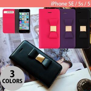 iPhoneSE / iPhone5s ケース LAYBLOCK レイブロック iPhone SE / 5s / 5 Ribbon Classic Diary 手帳型 ケース  ネコポス不可|ec-kitcut