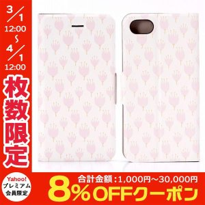 iPhone8 / iPhone7 スマホケース LEPLUS ルプラス iPhone 8 / 7 薄型デザインPUレザーケース Design+  Flower ピンク03 LP-I7LD04 ネコポス可|ec-kitcut