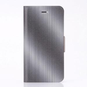 iPhone8 / iPhone7 スマホケース LEPLUS ルプラス iPhone 8 / 7 薄型デザインPUレザーケース Design+  ヘアライン LP-I7LD27 ネコポス可|ec-kitcut