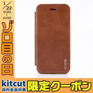 LEPLUS ルプラス iPhone 8 / 7 アルミバンパー + PUレザーフラップケース DUAL FACE Flap  ブラウン LP-I7LDFBG ネコポス送料無料|ec-kitcut