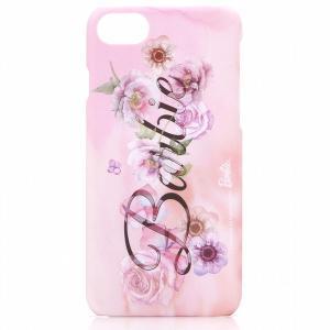 iPhone7 ケース、カバー LEPLUS ルプラス iPhone 7 Barbie Design プリントハードケース ロゴ柄 LP-BI7HSB ネコポス可