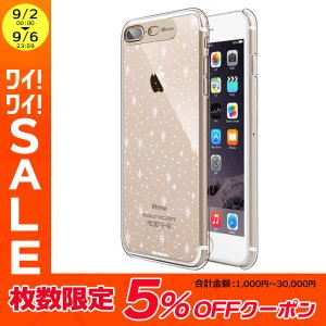 iPhone8Plus/ iPhone7Plus ケース SG エスジー iPhone 8 Plus / 7 Plus Clear Hard イルミネーションケース ギャラクシーゴールド SG8785i7P ネコポス可|ec-kitcut