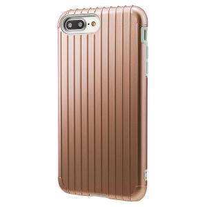 iPhone8Plus/ iPhone7Plus ケース GRAMAS グラマス iPhone 8 Plus / 7 Plus COLORS Rib Hybrid case Rose Gold CHC446PRG ネコポス送料無料|ec-kitcut