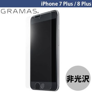 iPhone8Plus / iPhone7Plus ガラスフィルム GRAMAS グラマス iPhone 8 Plus / 7 Plus Protection Glass Anti Glare 0.33mm GL-116PAG ネコポス可|ec-kitcut