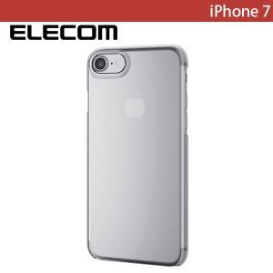 iPhone7 ケース エレコム ELECOM iPhone 7 シェルカバー クリア PM-A16MPVCR ネコポス可|ec-kitcut