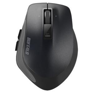 マウス ワイヤレスマウス BUFFALO バッファロー 無線 BlueLED プレミアムフィットマウス Mサイズ ブラック BSMBW500MBK ネコポス不可 ec-kitcut