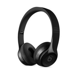 ヘッドホン本体 【New】 beats by dr.dre ビーツ バイ ドクタードレー Solo3 Wirelessオンイヤーヘッドフォン - グロスブラック MNEN2PA/A ネコポス不可