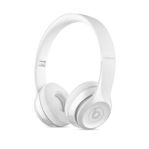 ヘッドホン本体 【New】 beats by dr.dre ビーツ バイ ドクタードレー Solo3 Wirelessオンイヤーヘッドフォン - グロスホワイト MNEP2PA/A ネコポス不可