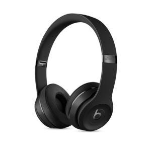 ヘッドホン本体 【New】 beats by dr.dre ビーツ バイ ドクタードレー Solo3 Wirelessオンイヤーヘッドフォン - ブラック MP582PA/A ネコポス不可