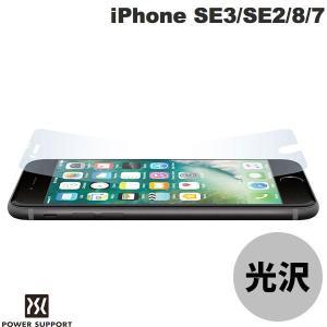 iPhone SE2 8 7 フィルム PowerSupport パワーサポート iPhone SE 第2世代 / 8 / 7 AFPクリスタルフィルムセット PBY-01 ネコポス可|ec-kitcut