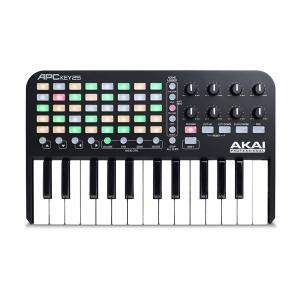 MIDIキーボード AKAI アカイプロフェッショナル Professional USB MIDIキーボードコントローラー Ableton Live Lite付属 APC KEY 25 AP-CON-025 ネコポス不可|ec-kitcut